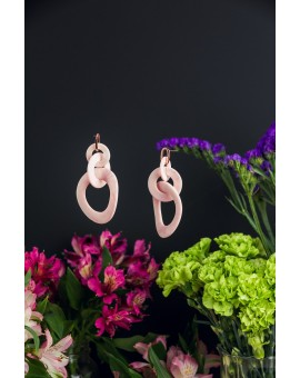 Looped Shell Earrings