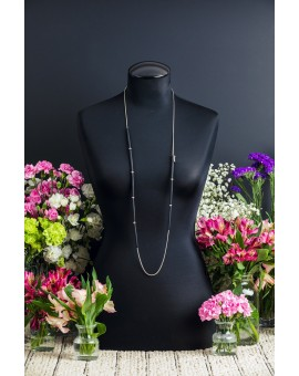 Long Black Stick Necklace