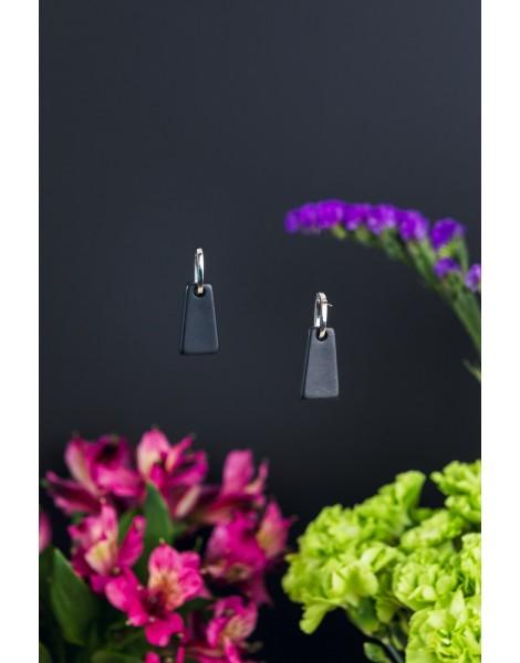Black Tower Earrings